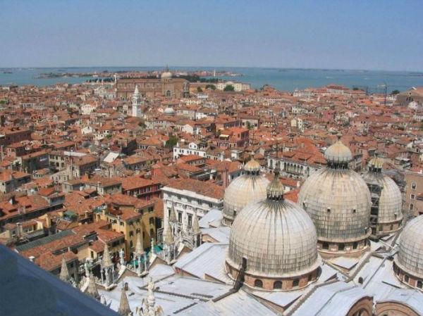 TravelPass.gr - Εντυπωσιακές εικόνες της Βενετίας από ψηλά!