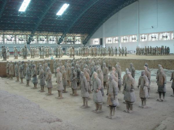 TravelPass.gr - Ο Πήλινος Στρατός του αυτοκράτορα