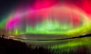 TravelPass.gr - Εντυπωσιακό Σέλας στον ουρανό της Σκωτίας