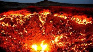 Οι Πύλες της Κολάσεως καίνε ακατάπαυστα για μισό αιώνα!