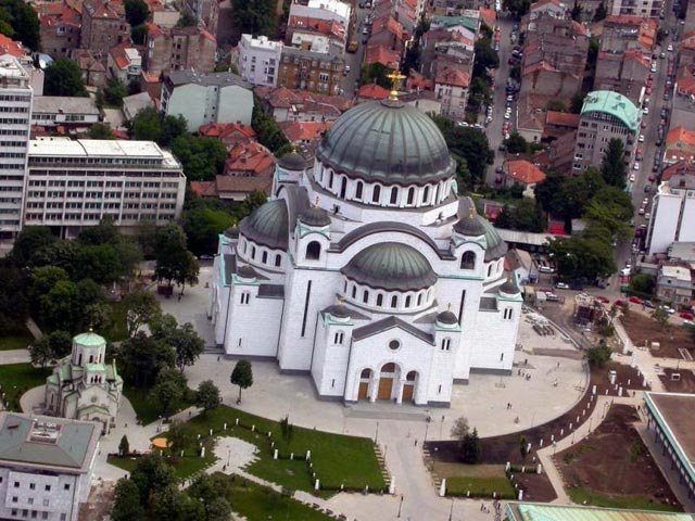 TravelPass.gr - Ναός Αγίου Σάββα στο Βελιγράδι - Η μεγαλύτερη εκκλησία στα Βαλκάνια