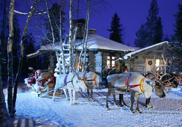 Travelpass.gr-Χριστούγεννα στο Χωριό του Άγιου Βασίλη στη Λαπωνία