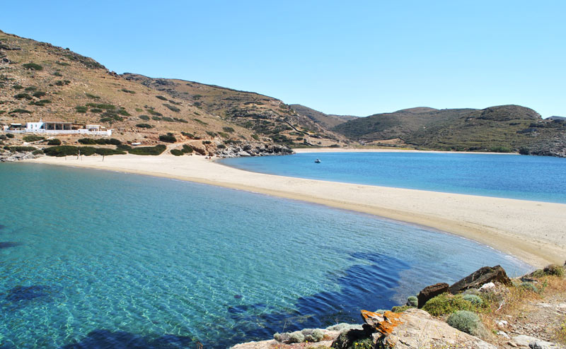 Οι 10 καλύτερες παραλίες της Κύθνου